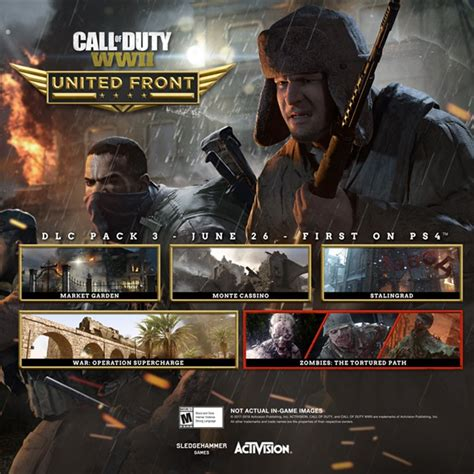 Call Of Duty 26 call of duty wwii united front dlc 3 is out june 26