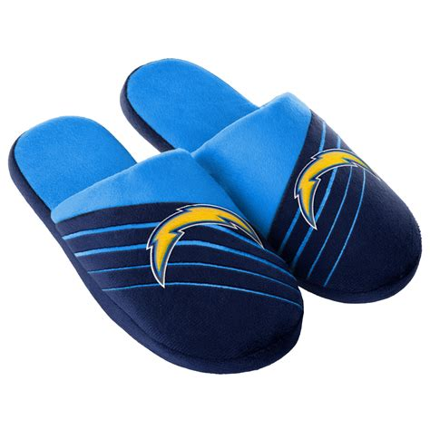 chargers slippers nfl s san diego chargers navy blue slippers