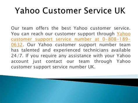 email of yahoo customer care yahoo customer service support contact 0 808 189 0632