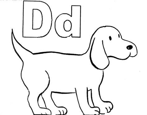 letter d alphabet adventure