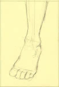 figure drawing how to draw a foot