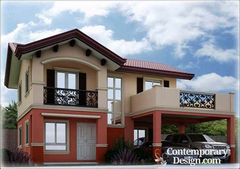 camella homes design with floor plan front balcony designs