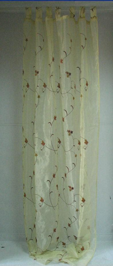 organza curtain china organza embroidery curtain cl007 china curtain