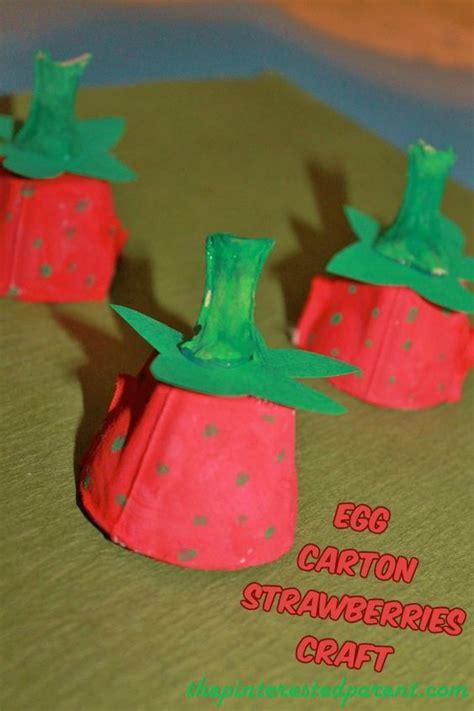 Egg Strawberries Craft Eierdozen