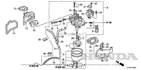 honda generator carburetor diagram honda eu3000is1 a generator jpn vin ezgf 1500001 parts
