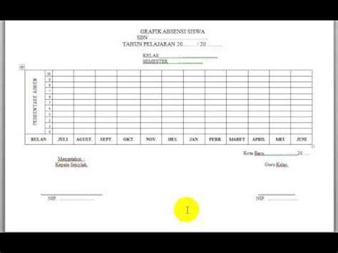contoh format grafik absensi siswa contoh format grafik absensi siswa quality education for all