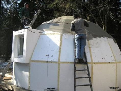 expanded polystyrene made dome house these dome houses in japan are earthquake resistant and