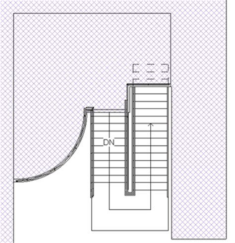 stairs symbol floor plan do u revit january 2008