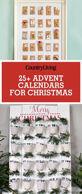 ideas for a calendar 33 diy advent calendar ideas advent