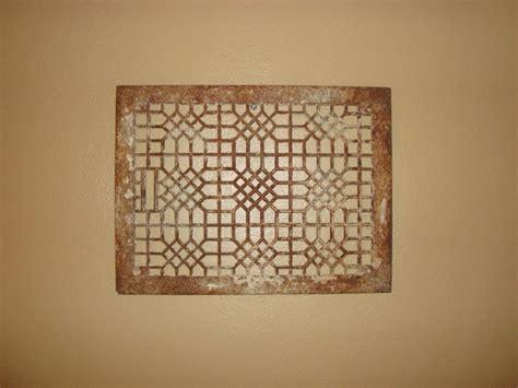 antique wrought iron floor ls vintage antique ornate cast iron floor grate heat air