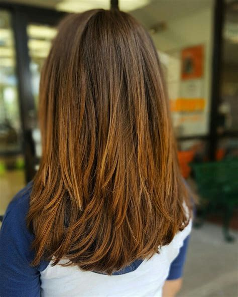 haircuts for dead straight hair layered haircut layers choppy layers diana pinterest