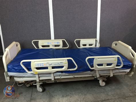 hill rom advanta p1600 fully electric adjustable hospital bed with scale ebay