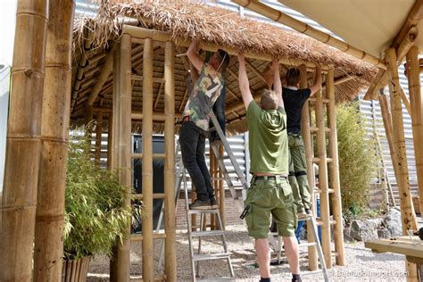 gazebo 3 x 4 bali bamboe gazebo 3 x 4 m