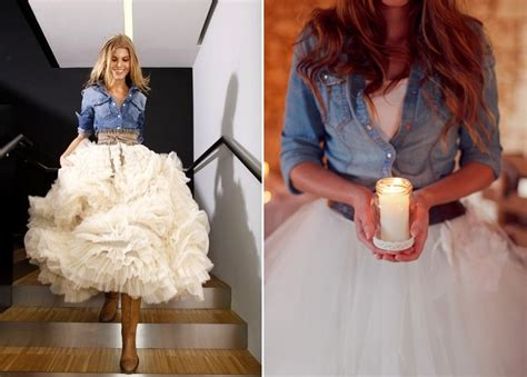 White Demin Wedding Dresses by Blue Jean Baby Denim Jackets Chambray Shirts With