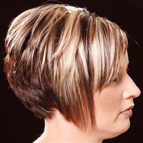 short brown hair with blonde highlights short blonde hairstyles with lowlights cute baleyage
