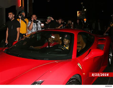 tyga bentley truck tyga ferrari repo d while bentley shopping photo
