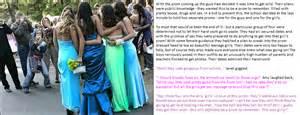 Tg captions prom dress
