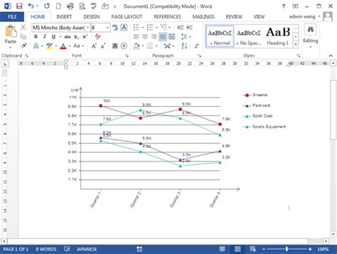 template for line graph line graph templates for word