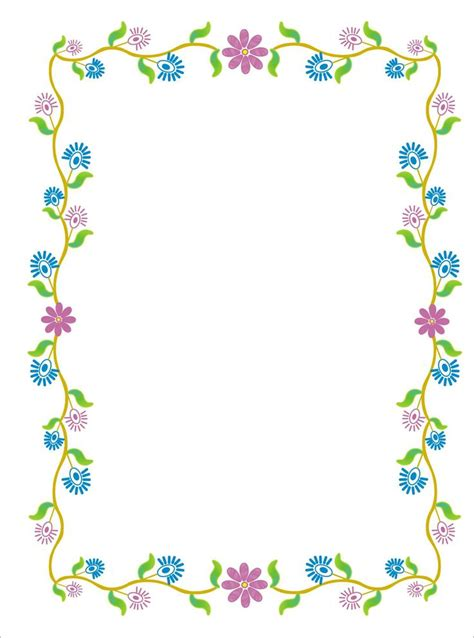 baby shower page borders baby shower border clip cliparts co