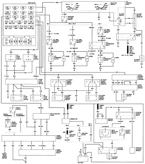 91 chevy s10 wiring diagram wiring diagram and schematics 91 chevy s10 wiring diagram wiring diagram and schematics