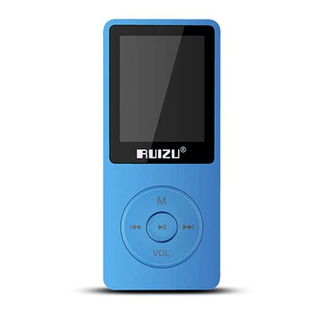 Mp3 Player Ruizu X02 מוצר 100 original ruizu x02 mp3 player with 1 8 inch screen can play 100 hours 8gb with fm e