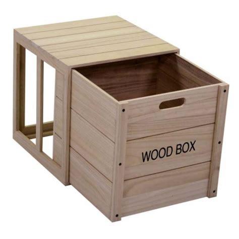 scatole a cassetto scatola a cassetto in legno