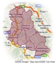 Chianti Italy Map by Chianti Italy Travel Guide To Chianti Wine Region In