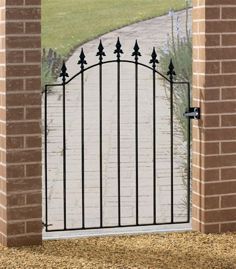 metal backyard gates wrought iron garden gates www pixshark com images