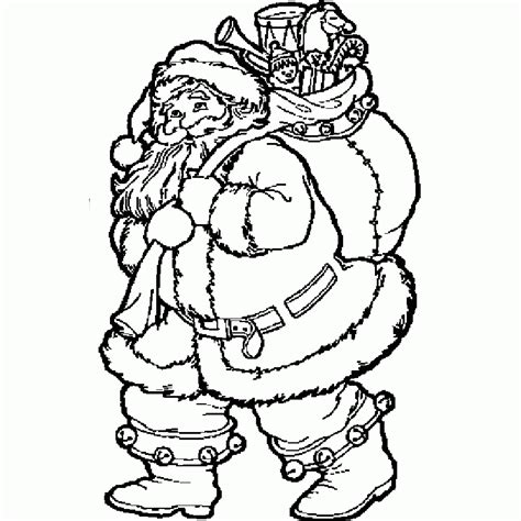 coloring pages santa claus az coloring pages