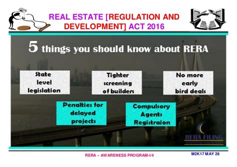 Mba In Property Management by Mba In Real Estate Management Why Rera By Professor Dr C
