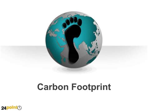 carbon footprint template carbon footprint editable powerpoint slides