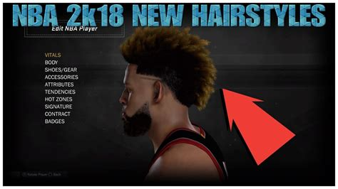 hairstyles nba 2k18 nba 2k18 all new hairstyles odell beckham jr haircut