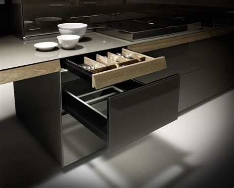 cassetto cucina la cucina genius loci di valcucine ambiente cucina