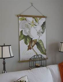print hanging frame affordable way to frame posters craft diy ideas