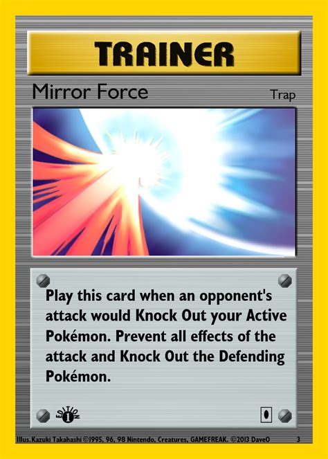 how to make trainer card yugioh crossover trainer card mirror by