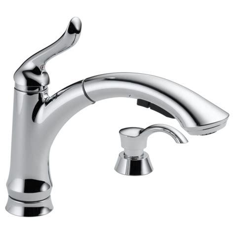 Delta Kitchen Faucet Models single handle pull out kitchen faucet with soap dispenser