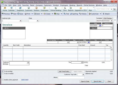 quickbooks edit sales receipt template using shopsite order transfer for quickbooks