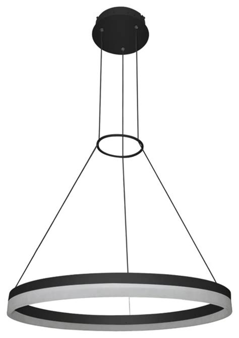 Modern Circular Chandelier Led Adjustable Circular Chandelier 24 Quot Modern