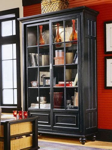 use a china cabinet for other stuff   BOOKCASES & THE LIKE