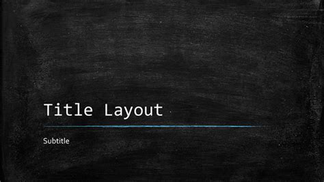 Chalkboard Education Presentation Widescreen Template For Powerpoint 2013 Inside Ppt Slides Cart Chalkboard Powerpoint Template