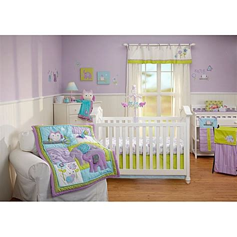nojo crib bedding nojo 174 dreamland crib bedding collection bed bath beyond