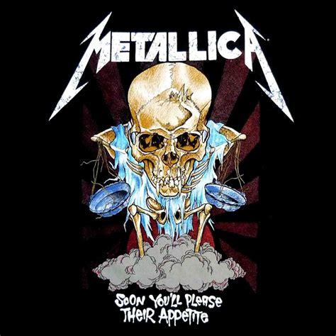Metallica Skull pushead metallica doris artwork by pushead aka brian