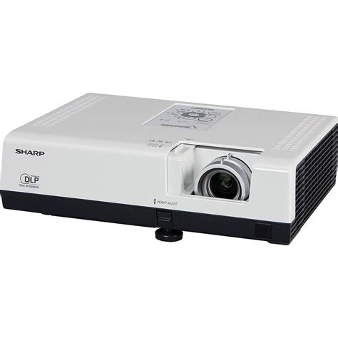 sharp pg d2500x dlp projector pg d2500x b h photo