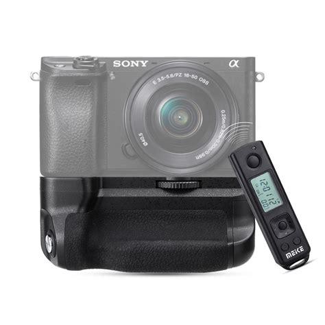 Grip Sony meike mk a6300 pro battery grip 2 4g wireless remote