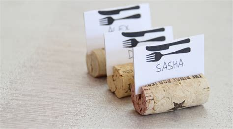 diy place card holders 11 diy wine cork place card holders guide patterns