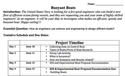 boat building rubric buoyant boats 2013 2014 jonathan s classroom