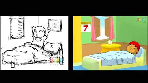 animasi  bangun tidur terlengkap  terupdate top
