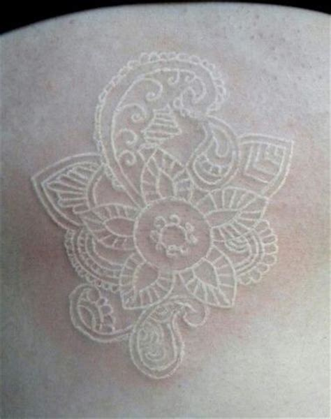 white ink henna tattoo 40 must see white ink tattoos strepik temporary tattoos