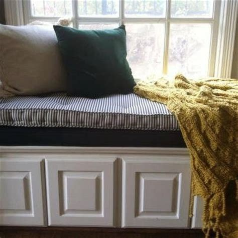 cushions for window bench hand made french tufted window seat cushion by hearth and