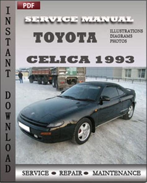 manual repair autos 1993 toyota celica engine control 28 1993 toyota celica repair manual pdf pdf 66724 toyota celica 1970 2006 service repair